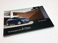 2009 Mercedes-Benz B-Class W245 Brochure