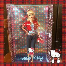 MATTEL Barbie x Hello Kitty Collaboration Doll 2008 SANRIO Rare from Japan