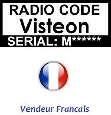 Code Pins Code Visteon - Ford - Fiat - Mercedes - Jaguar - Land Rover