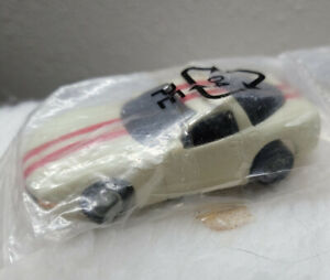 Dodge Viper Glow in the Dark HO Scale with red stripes slot car sealed