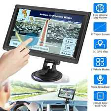 """5""""/7""""/9"""" Car GPS Navigation 8GB Touch Screen Navigator +Free Map Voice Broadcast"""
