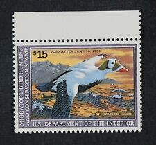 CKStamps: US Federal Duck Stamps Collection Scott#RW59 $15 Mint NH OG