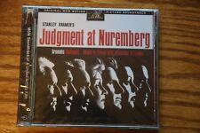 JUDGMENT AT NUREMBERG  ORIGINAL SOUNDTRACK  (CD, Jun-1998, Rykodisc)