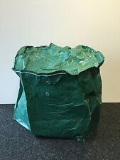 BBQ COVER, (KETTLE) STRONG WOVEN POLYPROPYLENE, GREEN, WITH EYELETS, LARGE SIZE