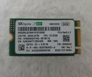 SK Hynix BC 501 NVME HFM256GDHTNG-8510B SSD M.2 2242 256GB Laptop