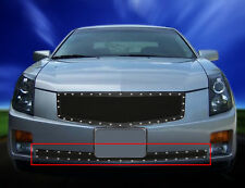Bumper Rivet Mesh Grille Grill For Cadillac CTS 2003 2004 2005 2006 2007