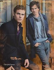 THE VAMPIRE DIARIES - A2 Poster (XL - 42 x 55 cm) - Clippings Fan Sammlung NEU