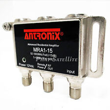 ANTRONIX Cable Signal Boost Amplifier MRA1-15 AMP Micro 1 output 12Vdc Power HD