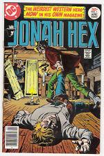 (1977) DC COMICS JONAH HEX #1 JOSE LUIS GARCIA LOPEZ ART! 8.0 / VERY FINE
