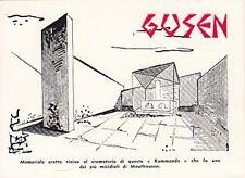 9335) WW2, AUSTRIA, MEMORIALE NEL CAMPO DI STERMINIO DI GUSEN (MATHAUSEN).