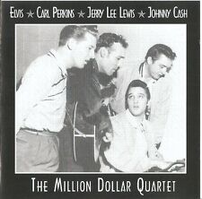 The Million Dollar Quartet: Elvis-C. Perkins-J. L. Lewis-J. Cash/CD