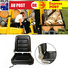 Forklift Seat Leather Chair For Forklifts and Tractors PU leather j