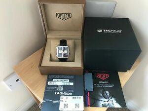 Superb Tag Heuer 2019 Steve McQueen Monaco CAW211P FC6356 Wristwatch Tag & Boxes