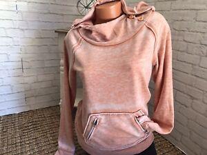 Women's ROXY L/S Pullover Crew Hoodie Sweatshirt Sz M NWOT!