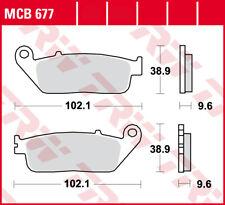 TRW Lucas Bremsbeläge MCB677 vorne – Honda NC 750 D Integra , SD-DCT , DCT