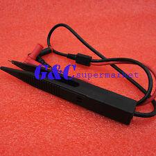 Smd Inductor Test Clip Probe Tweezers For Resistor Multimeter Capacitor