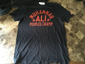 Under Armour X Roots Of Fight Muhammad Ali People's Champ Shirt Men's Size Med.