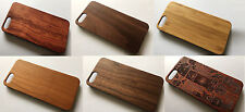 apple iphone 6 6s 4.7 Real wood case wooden back plastic trim cover bamboo
