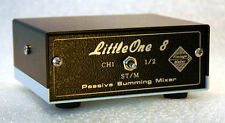 Summing Mixer LittleOne 8x2 DB25 in TRS out Stereo to Mono studio line DAW mixer