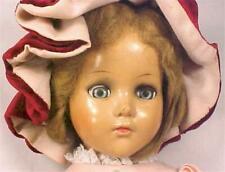Nancy Lee Composition Doll Arranbee R & B Vintage 18 inch Mohair Wig