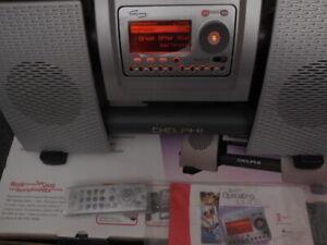 Delphi SA10034 Skyfi CD FM/ AM Audio System & SA10000 Satellite Receiver
