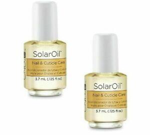 2 CND Mini SOLAR OIL Nail & Cuticle Conditioner 3.7ml