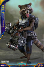 """Rocket Guardians of the Galaxy 2 Deluxe 1/6 Marvel MMS411 12"""" Figur Hot Toys"""