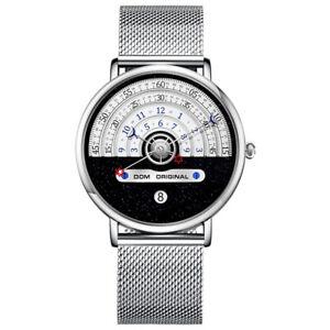 Fashion Top Brand Luxury Mens Watch Sports Leisure Waterproof Quartz Steel Watch