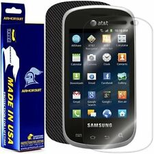 ArmorSuit MilitaryShield Samsung Galaxy Appeal Screen + Black Carbon Fiber Skin