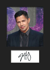 JAY HERNANDEZ #2 A5 Signed Mounted Photo Print - FREE DELIVERY