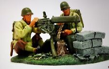 BRITAINS  17492 u.s. Water-cooled browning MG team mint in box. Ww2