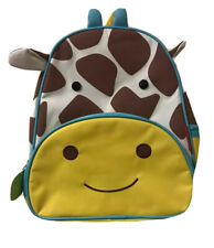 Skip Hop Zoo Jules The Giraffe Toddler/Little Kid Backpack w/ Adjustable Straps