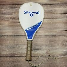 Vintage Spaulding Power Flight Racquetball Racquet in Case