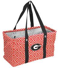 University of Georgia Logo Tote Bag Bulldog Fan Student Graduation Gift Idea