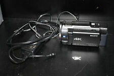 Sony Handycam FDR-AX33 Compact 4K HD Digital Video 20.6MP Camcorder Camera