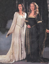 RENFAIRE GOWN with Train n Cape 18-22 Renaissance Medieval UNCUT Sewing Pattern