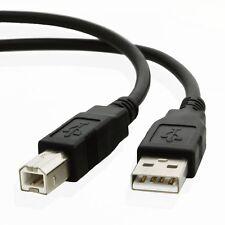 3 M 3 M USB 2.0 A a B Stampante Ad Alta Velocità Cavo Di Piombo Nero UK Venditore