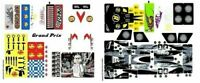 LEGO Speed Racers GRAND PRIX RACE Replacement STICKER SHEETS ONLY 8161  #1 & #2
