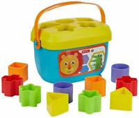 Fisher-Price FFC84 Baby's First Blocks, Baby Shape Sorter Toy