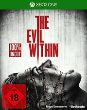 XBOX One The Evil Within NEU/OVP in FOlie + The Fighting Chance Pack OVP komplet