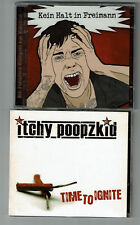 Itchy Poopzkid - Time To Ignite CD von 2007 + Gratis Doppel-CD Punkrock-Hörspiel
