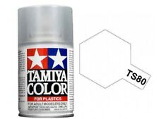 Tamiya Color TS-80 FLAT CLEAR Lacquer Spray Can 100 ml