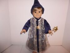 """Wizard Halloween Costume Doll Clothes made for 18"""" American Girl or Boy Doll New"""