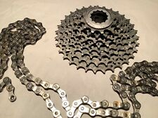 Shimano XTR M950 chain and cogset