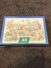 Vintage Springbok Puzzle 48 Pc's 12x17 Springtime Garden Brand New! Still Sealed
