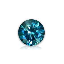 Montana Blue Sapphire Natural 4.5 mm/0.88 Round Brillant Medium Blue AAA Grade