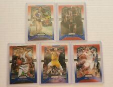 2019-20 Red White Blue Prizm Refractor 5x Lot Kevin Durant Steph Curry Tre Young