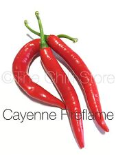 Fireflame Cayenne Hot Chilli Seeds x 20