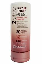 GIOVANNI 2CHIC FRIZZ BE GONE ANTI-FRIZZ HAIR BALM 147ml - DUAL SMOOTHING COMPLEX