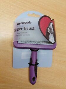 Rosewood Pet Slicker Brush Dog Cat Grooming MEDIUM